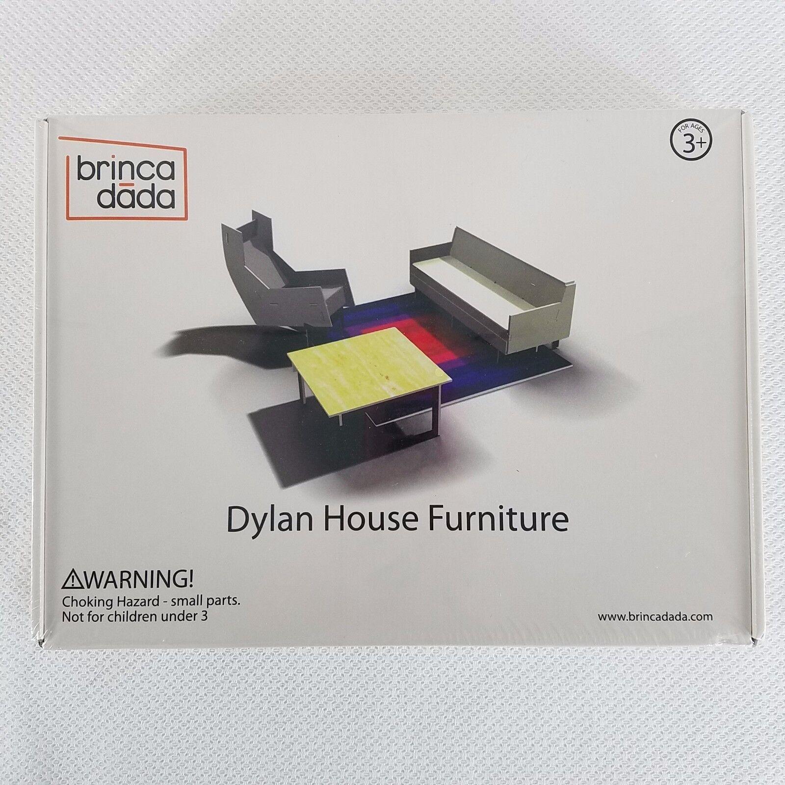 Brinca Dada Dylan House Furniture Foamcore Dollhouse Minature