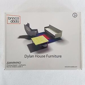 New-Brinca-Dada-Dylan-House-Furniture-Dollhouse-Living-Room-Foam-Core-F-1001