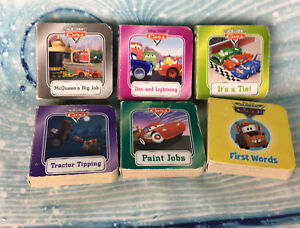 Lot-6-Disney-Cars-Board-Books-Lightning-McQueen-Mater