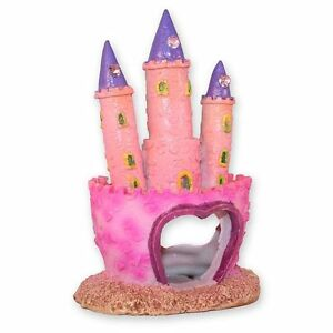 image is loading pink princess castle fish cave aquarium ornament fish