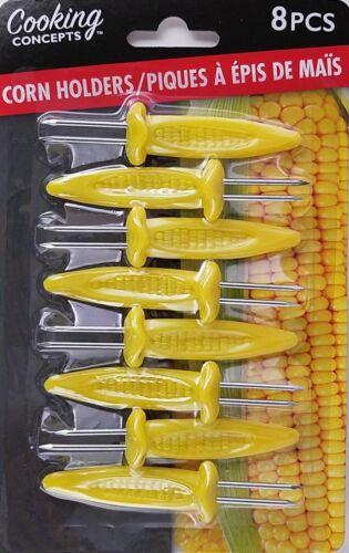 CORN ON THE COB HOLDERS Jumbo Corn Holder 8//Pack