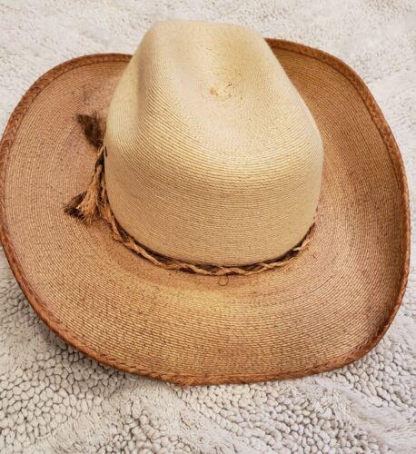 Som-Her Western Cowboy Hat Straw Rodeo Size Junior