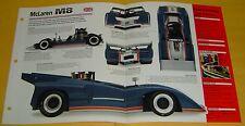 70 71 1969 1968 McLaren M8C Race Car Chevy V8 427 ci 615 hp info/spec/photo 15x9