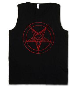 Red pentagram sign t-shirt-satan Crowley pentagramme satanic Circle 666 shirt