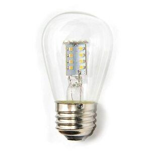 S11 Led 1w Light Bulb For Refrigerators Signs E12 Candelabra Base 120v Ebay