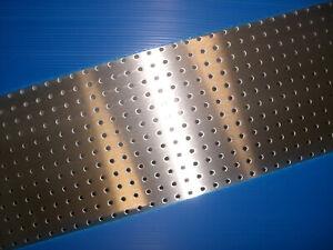 Rg 4,5-15 Größe wählbar Maß-Zuschnitt BUCHERT Aluminium-Lochblech 2,0 mm