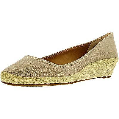 Lucky Brand Women's Tilly Linen Fabric Ankle-High Canvas Flat Shoe