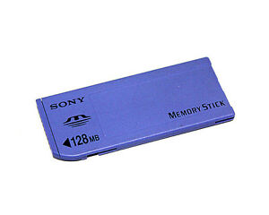 Genuine-Sony-128MB-Memory-Stick-MS-Card-Long-MS-For-Sony-Camera-Old-Model
