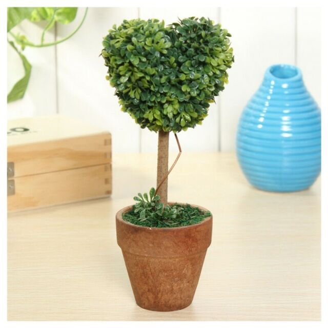 Plastic Garden Grass Ball Topiary Tree Pot Dried Plant for Wedding Party De R2H6