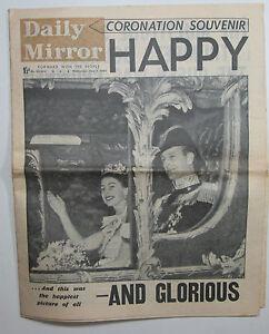 June-3-1953-original-Daily-Sketch-Queen-Elizabeth-QE-II-Coronation-newspaper