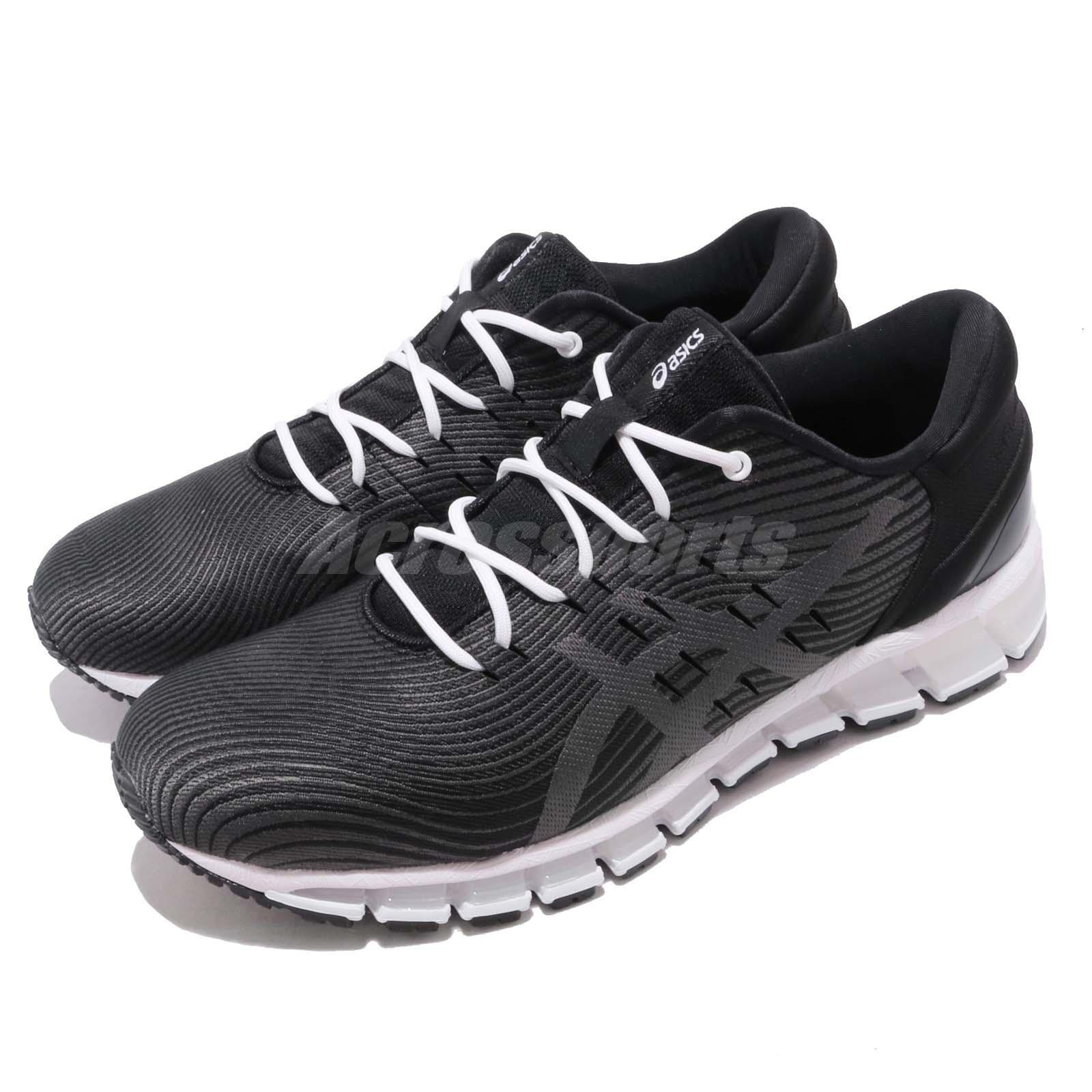 Asics Gel Quantum 360 4 negro gris blanco Men Running zapatos zapatillas 1021A028-001
