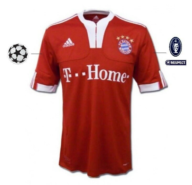 Trikot Adidas Adidas Adidas FC Bayern München 2009-2010 Home UCL  Champions League c89d17
