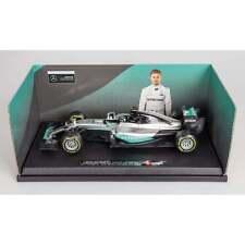 Nico Rosberg 1:18 Car 2016 WORLD CHAMPION Mercedes W07 Hybrid F1 Bburago BNIB