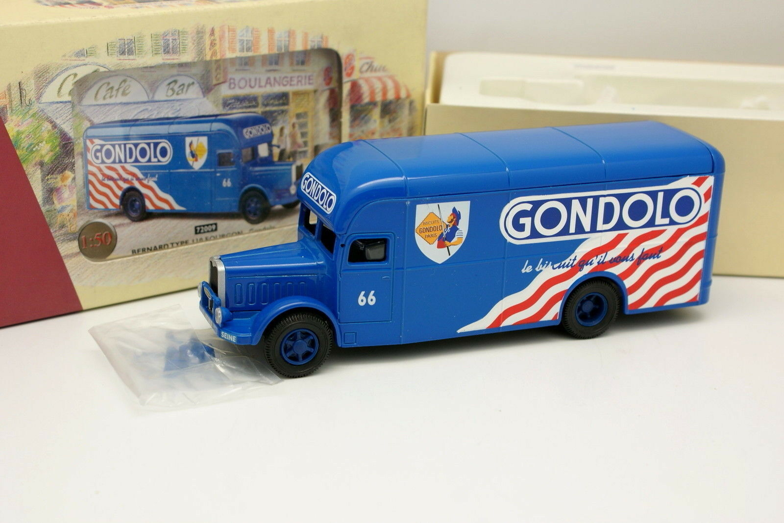 Corgi Legacy 1 50 - Bernard Type 110 Gondolo