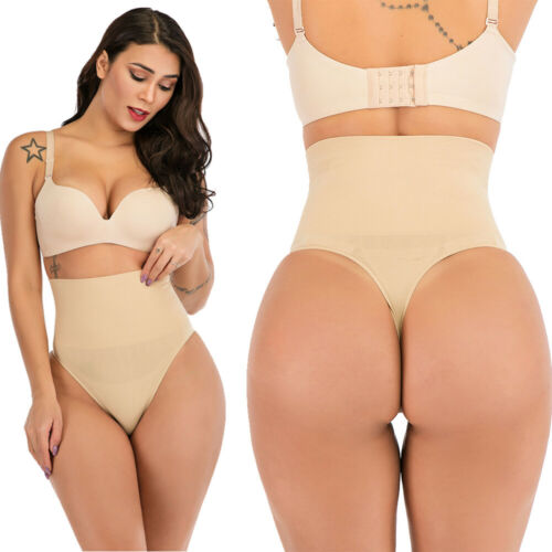 Details about  /Women Waist Cincher Girdle Tummy Control Thong Panty Slimmer Body Shaper Push Up