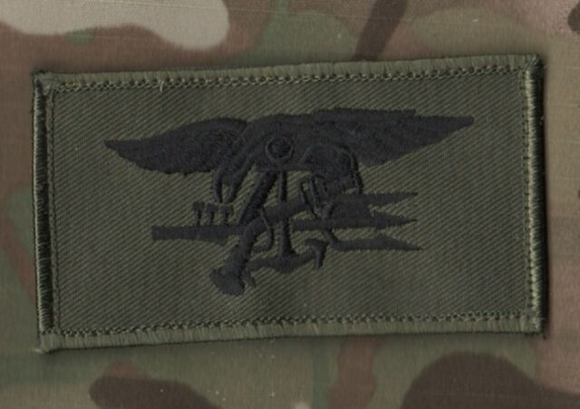 TALIZOMBIE© WHACKER SPECIAL WARFARE TROPHY νeΙ©®😎 PATCH: SEAL TRIDENT INSIGNIA