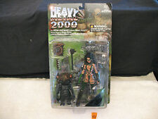 MOORE ACTION COLLECTIBLES HEAVY METAL 2000 F.A.K.K.2 New IN EXCLUSIVE CAMOUFLAGE