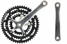 SHIMANO TIAGRA ROAD BIKE 9 SPEED TRIPLE 52/42/30 TEETH CHAINSET  FC-4403 175mm