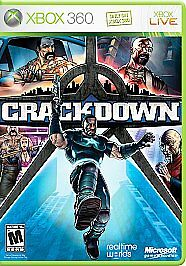 Crackdown - Xbox 360, Very Good Xbox 360,Xbox 360 Video Games - $5.99