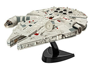 Star-Wars-7-Figure-Millennium-Falcon-Model-Kit-1-241-Spaceship-10CM-Han-Han-Only