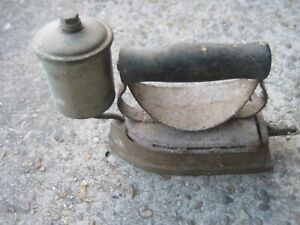 Antique Steam Clothing Iron Ebay