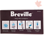 BREBWF100 ? Breville Replacement Water Filters White 4 FAST /& FREE