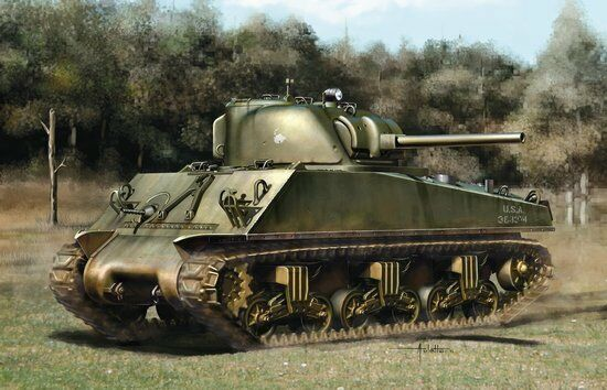 Dragon  35 M4A3 Sherman (75)W ETO