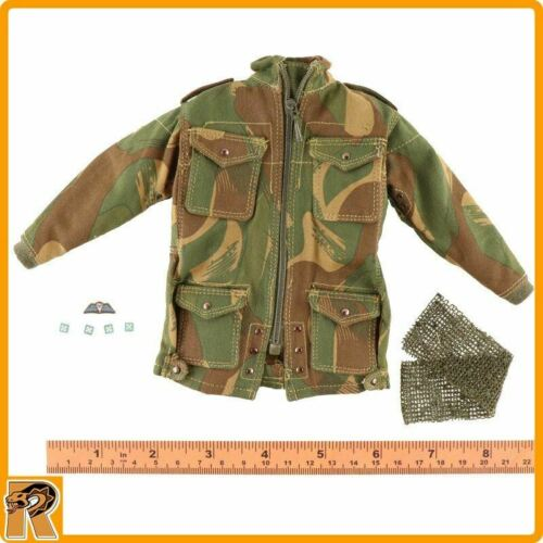 Camo Smock /& Scarf #1-1//6 Scale DID Action Figures Roy Red Devils Commander