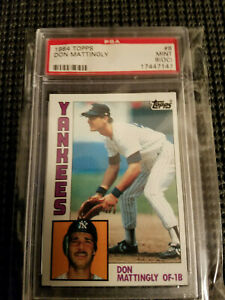 1984-Topps-Don-Mattingly-PSA-9-OC-New-York-Yankees-The-Hit-Man-Rookie-Card