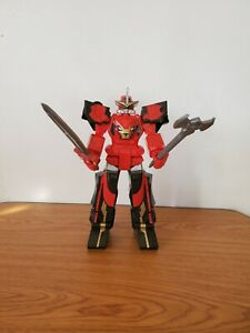 """Power Rangers Sabans Megazord Beast Morphers 10"""" Action Figure with weapons"""
