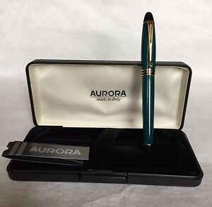 Aurora Fountain Pen - Penna Stilografica Aurora - B11 Ipsilon (Green) f0QMJMGK-09095248-890126020
