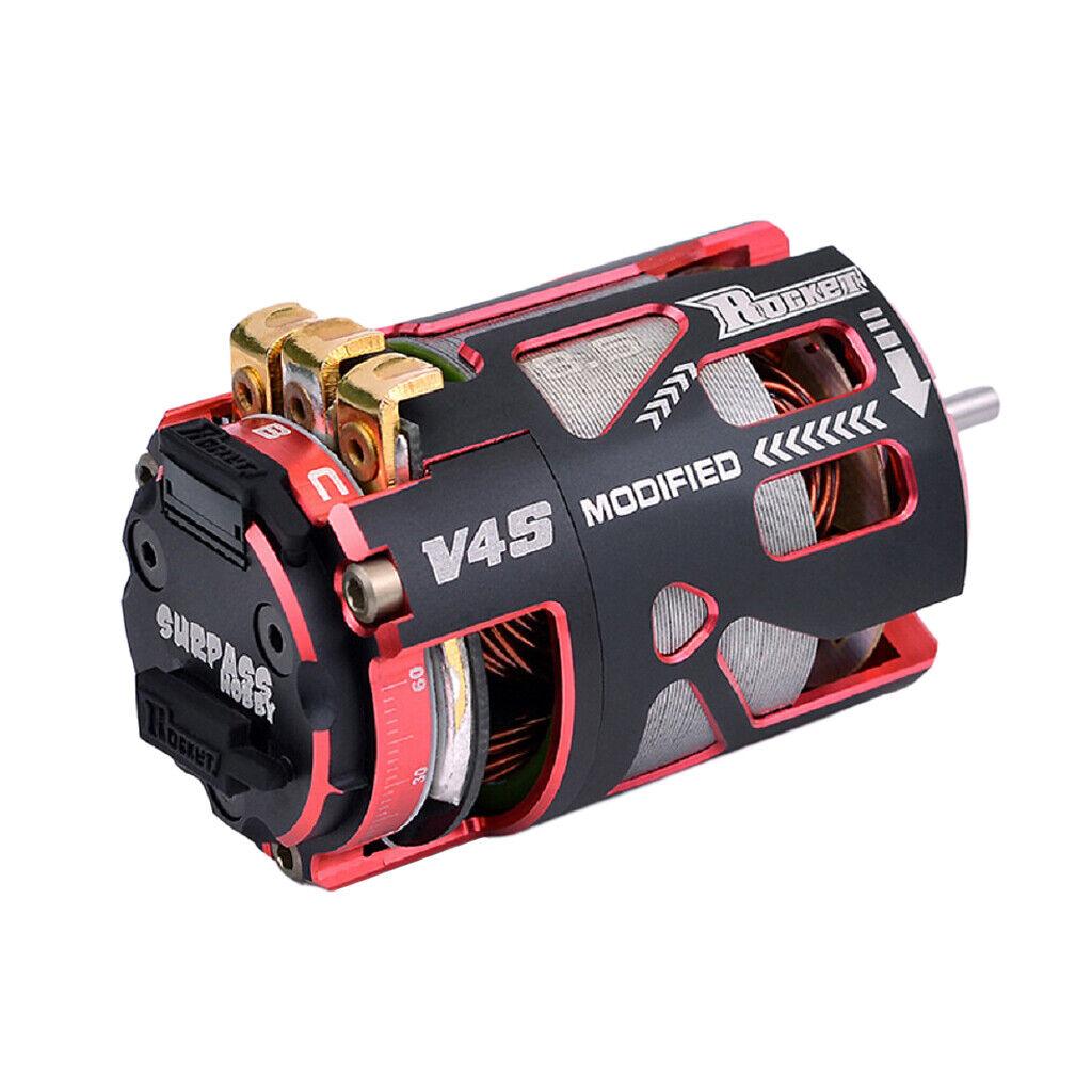 Rocket 540 V4S 8.5T Sensorojo Brushless Motor for 1 10 1 12 F1 RC Racing Coche