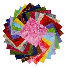 "75 4"" Quilting Fabric Squares Beautiful Faded Florals Tonals/60 !!"