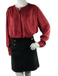 wholesale dealer 76a3c 6f174 Details zu Boden Design Damenbluse Bluse Rot Blusen Langarm Gr.48 UK.22  Plus Size//0494