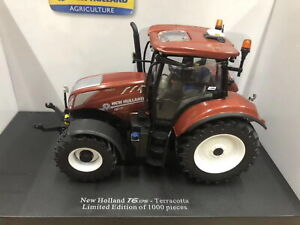 Universal-hobbies-1-32-New-Holland-t6-175-Edition-terracota-DIECAST-Model