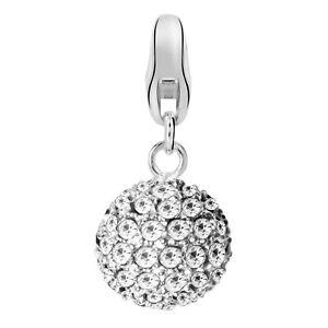 Dream-Charms-Damen-Charm-Anhaenger-echt-Silber-925-rhodiniert-Kugel-mit-Zirkonia