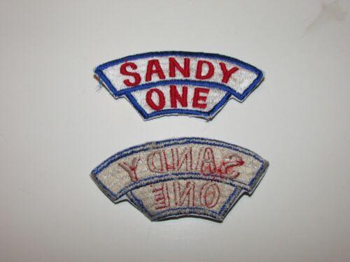 e0071 US Air Force Vietnam Gun Ship Sandy One tab IR20E