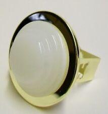 10 TRADE PACK Down Lights Bathroom Shower Downlight Opal Drop Glass Brass Trim