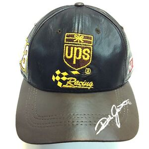 ups racing credit 88 nascar baseball leather hat cap ebay