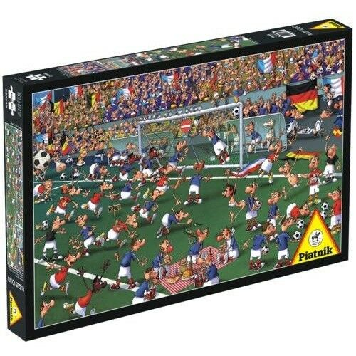 FOOTBALL SOCCER FUSSBALL FRANCOIS RUYER Piatnik Puzzle 537349-1000 Pcs.