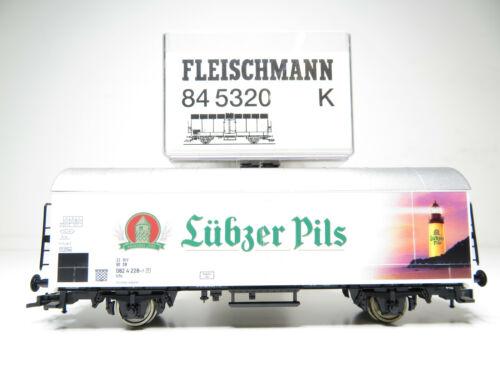 Kühlwagen Lübzer Pils der DB top in OVP Fleischmann 84 5320 K 216HO //06
