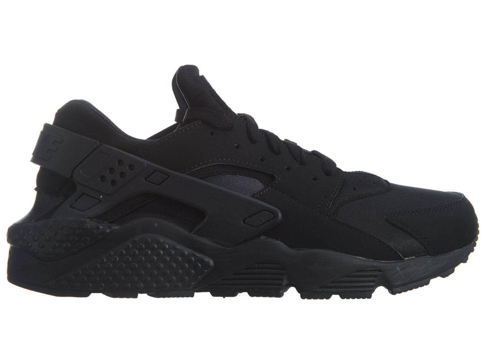 Nike Air Huarache Mens 318429-003 Black Textile Athletic Running shoes Size 10.5