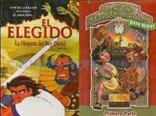 2 Pack El Elegido & Los 10 mandamientos Para Ninos primera Parte New Dvd