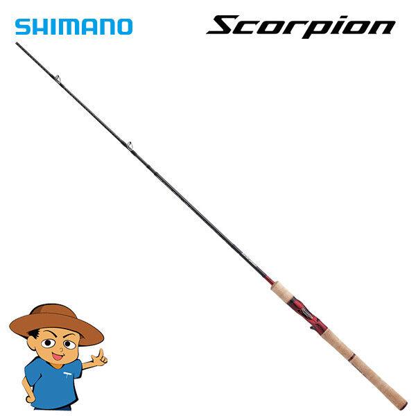 Shimano Scorpion 1703R-2 Baitcasting caña de pescar 2019 Modelo de Japón