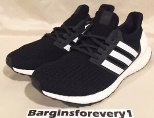 b34140692d5d2 Adidas UltraBOOST 4.0 - Size 11.5 - Black White - AQ0062 - Show Your ...