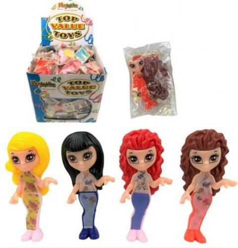 Fashion Doll Kit with Stickers Plastic 4cm Gift Party Bag Pocket Money Toy