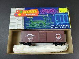 Roundhouse-1084-HO-Seaboard-Railroad-24116-40-039-Roundtop-Box-Car-Built-Kit