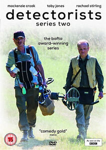 DETECTORISTS COMPLETE SERIES 2 DVD Second Season Mackenzie Crook UK Rele New R2 5036193032554