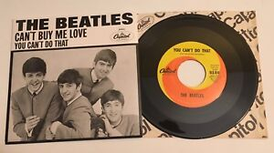 Beatles-Can-039-t-Buy-Me-Love-amp-You-Can-039-t-Do-That-2011-45-amp-Picture-Sleeve-Mint