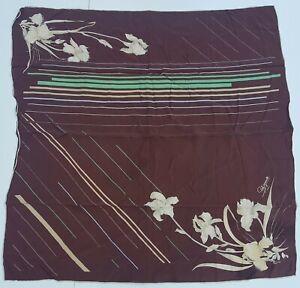 foulard-schiaparelli-paris-pura-seta-100-silk-original-made-italy-carre-scarf